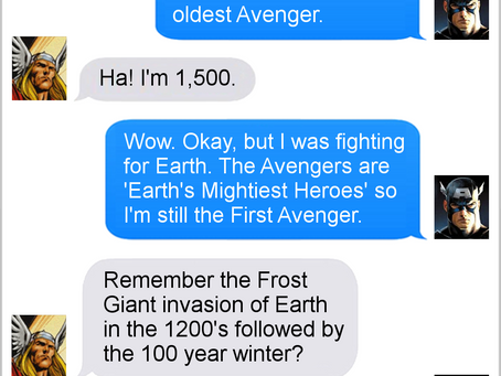 Texts From Superheroes: Best of 2018!