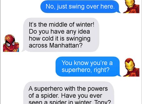 Texts From Superheroes: Hero Forecast