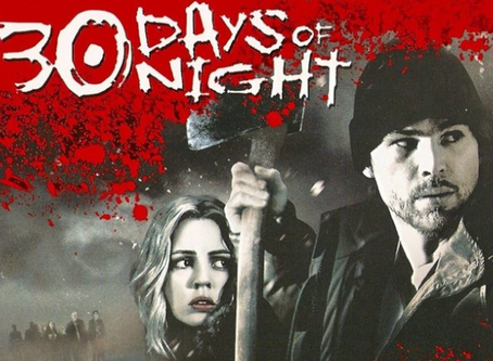 Talk From Superheroes: 30 Days of Night