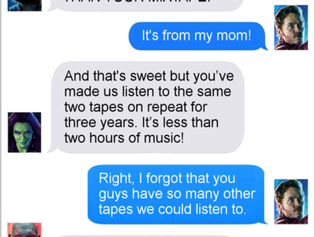 Texts From Superheroes: Mix-Tape