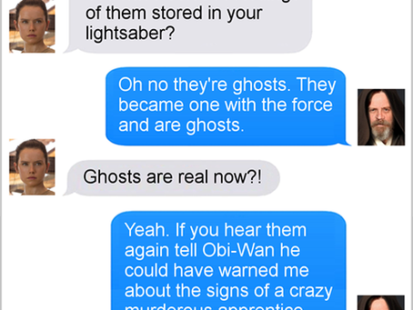 Texts From Superheroes: History Repeats Itself