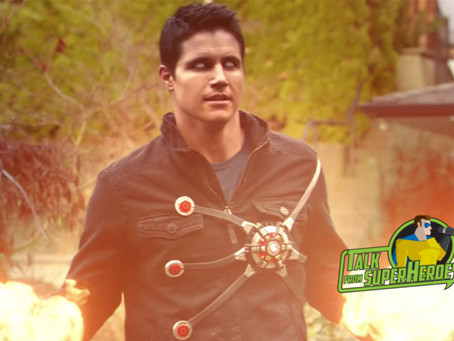 Talk From Superheroes: Robbie Amell