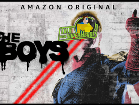 Talk From Superheroes: The Boys
