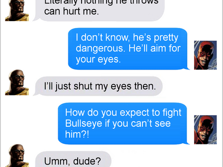 Texts From Superheroes: Best of Luke Cage (No spoilers)