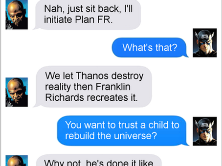 Texts From Superheroes: The More Things Change