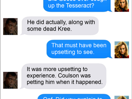 Texts From Superheroes: Hindsight is 10-20