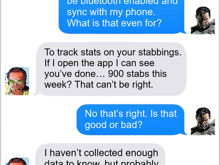 Texts From Superheroes: Data Collection