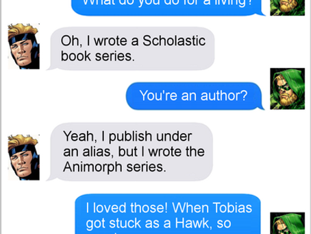 Texts From Superheroes: Tell Your Story