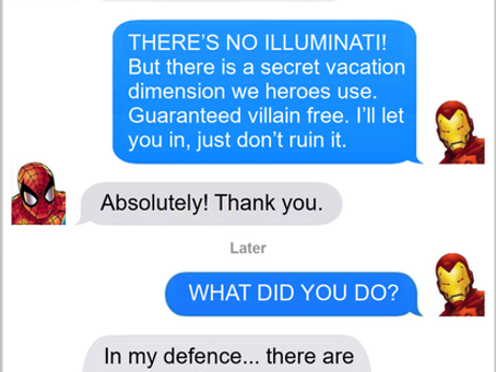Texts From Superheroes: Secret Access