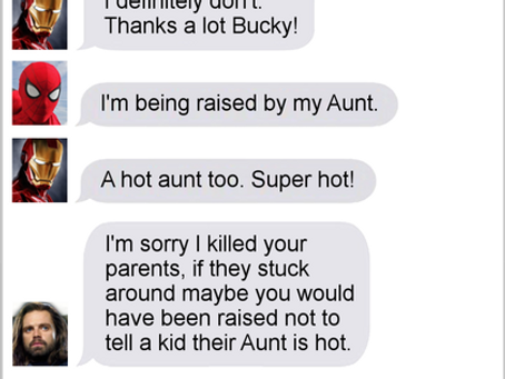 Texts From Superheroes: Thorphan