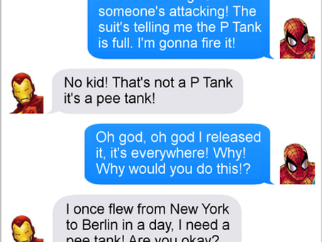 Texts From Superheroes: Test Drive