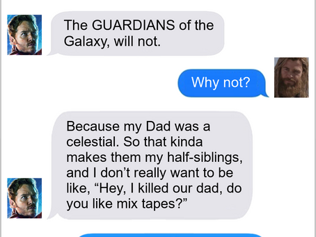Texts From Superheroes: Family Problems