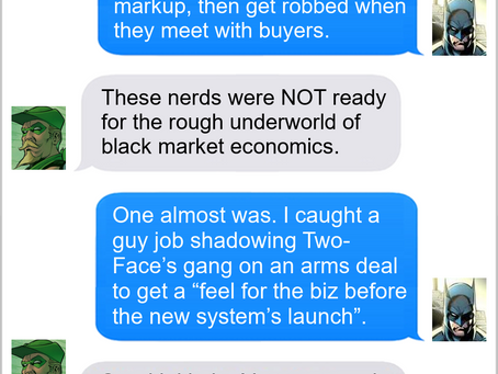 Texts From Superheroes: Do You Think This Is A Game?