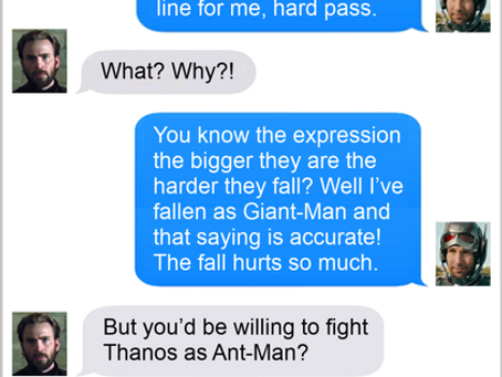 Texts From Superheroes: Size Matters