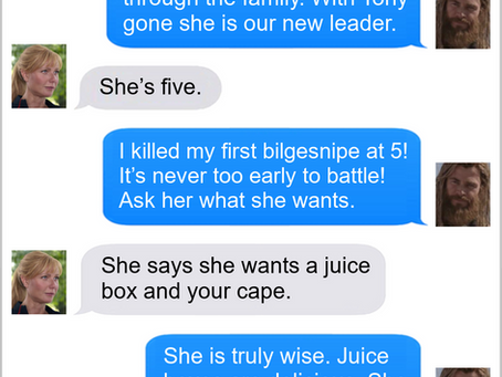Texts From Superheroes: New Leadership