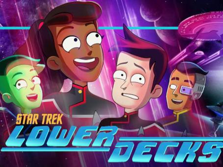 Talk From Superheroes: Star Trek Lower Decks
