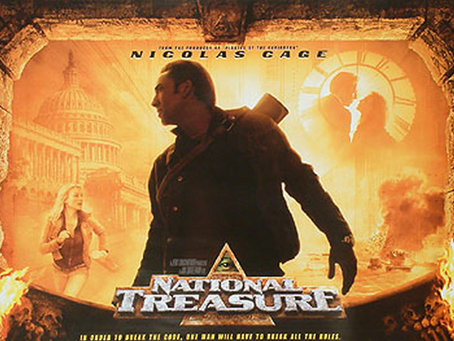 Talk From Superheroes: National Treasure