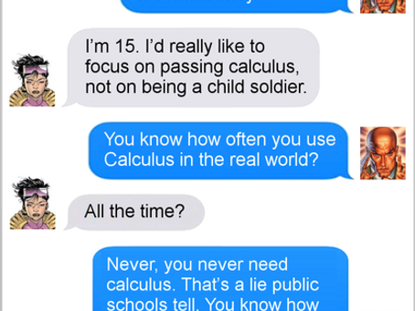 Texts From Superheroes: Life Hack