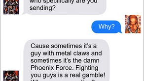 Texts From Superheroes: Roster