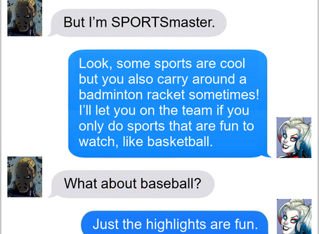 Texts From Superheroes: Making The Roster