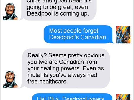 Texts From Superheroes: Best of Wolverine