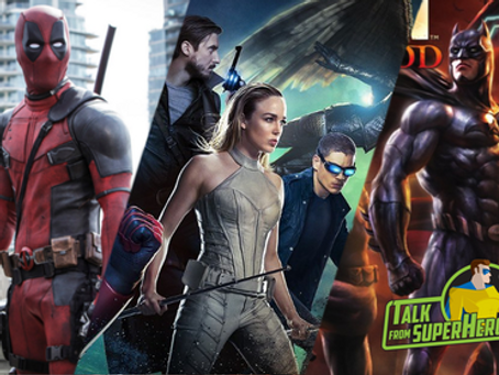 Talk From Superheroes: Deadpool, Legends of Tomorrow and Batman: Bad Blood