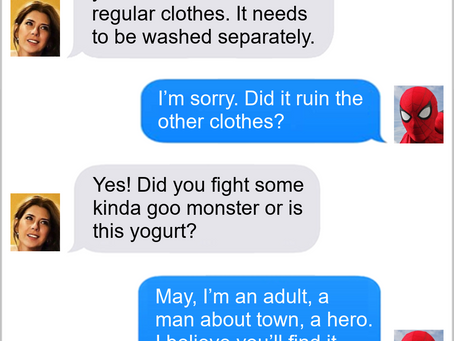 Texts From Superheroes: Dirty Job