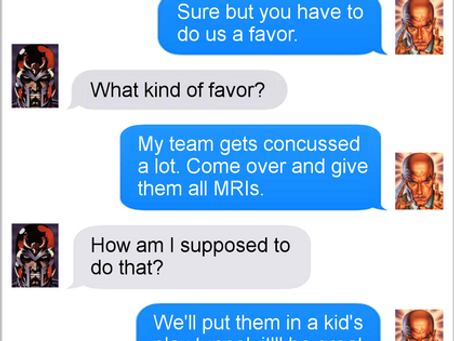 Texts From Superheroes: Service Providers
