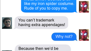 Texts From Superheroes: Cost An Arm and a Leg