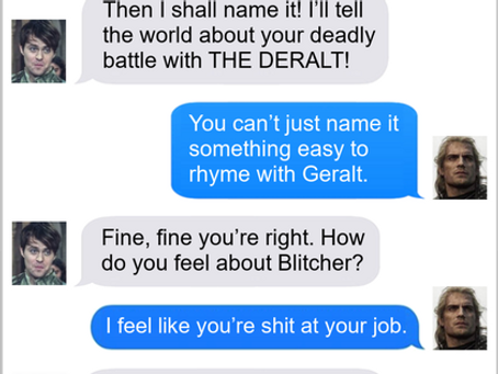 Texts From Superheroes: A Monster By Any Other Name