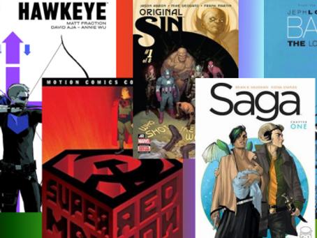 National Comic Book Day: Top 10 Comic Picks