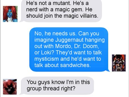 Texts From Superheroes: Brotherhood