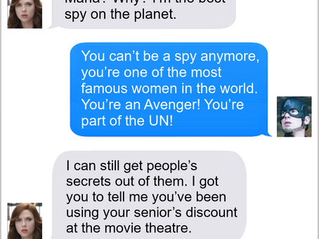 Texts From Superheroes: Job Security