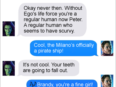 Texts From Superheroes: Pirate's Life