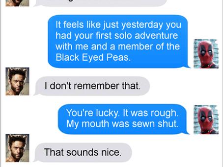 Texts From Superheroes: Memory Loss