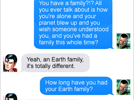 Texts From Superheroes: Best of Thanksgiving