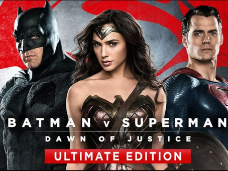Talk From Superheroes: Batman v Superman: Dawn of Justice (Ultimate Edition)