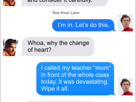 Texts From Superheroes: Help the boy Stephen!