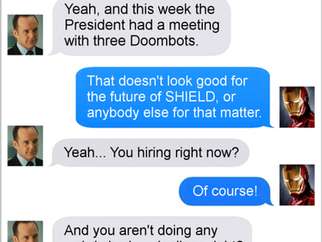 Texts From Superheroes: It's All Connected
