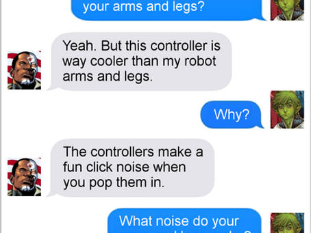 Texts From Superheroes: Titans GROSS!