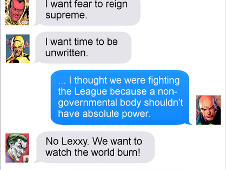 Texts From Superheroes: History Has Its Eyes On You