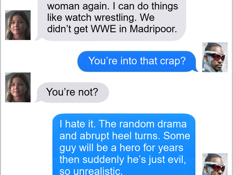 Texts From Superheroes: Freedom