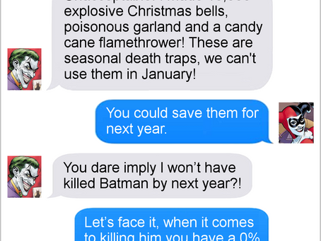 Texts From Superheroes: The Best of the Suicide Squad