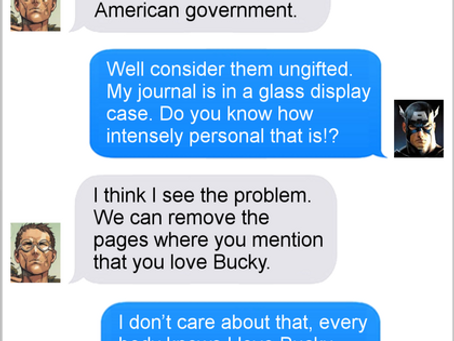 Texts From Superheroes: Past Comes Back To Haunt You