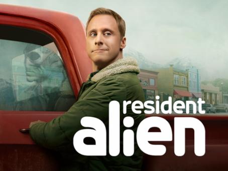 Talk From Superheroes: Resident Alien