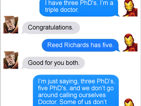 Texts From Superheroes: Humble Brag