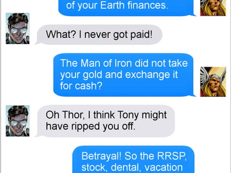 Texts From Superheroes: Work Friends With Benefits