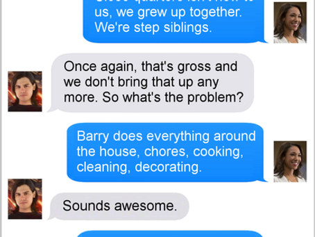 Texts From Superheroes: Relationship Problems