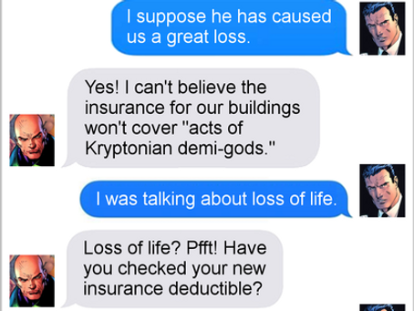 Texts From Superheroes: Prologue