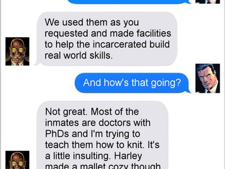 Texts From Superheroes: Skills That Kills